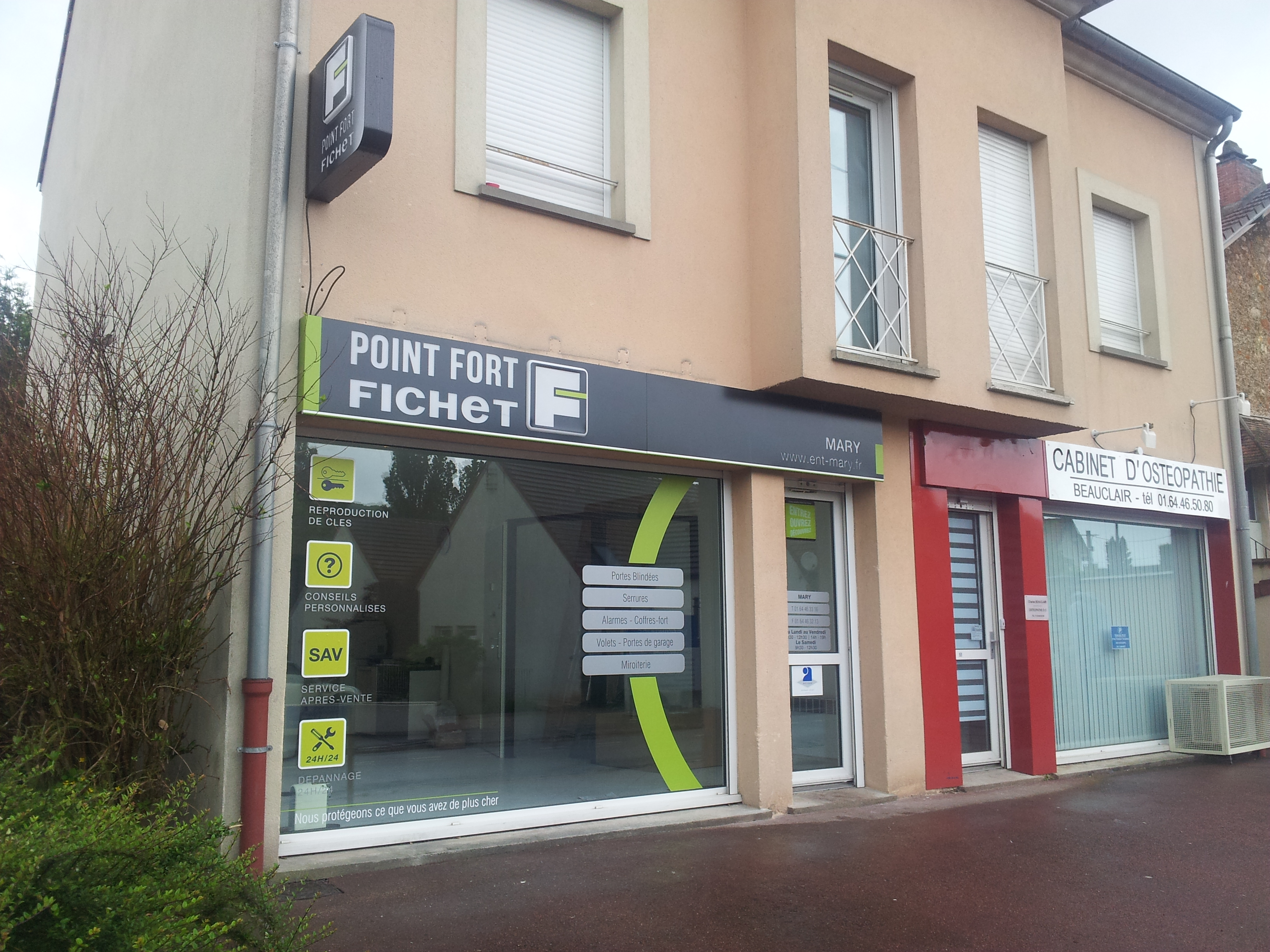 Entreprise mary point fort fichet 91 contact for Point fort fichet